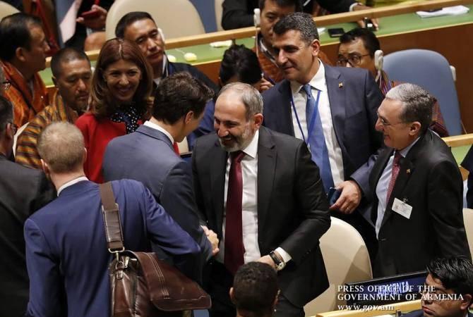 Canada PM looks forward to seeing Armenia's Pashinyan again